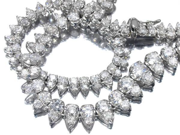 ダイヤモンド7.0ct プラチナネックレス