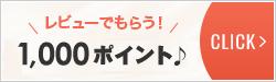 レビューでもらう!¥1,000クーポン♪