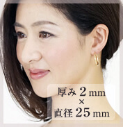 厚み2mm×直径25mm